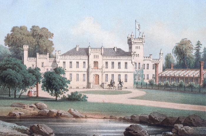 Schloss um 1860