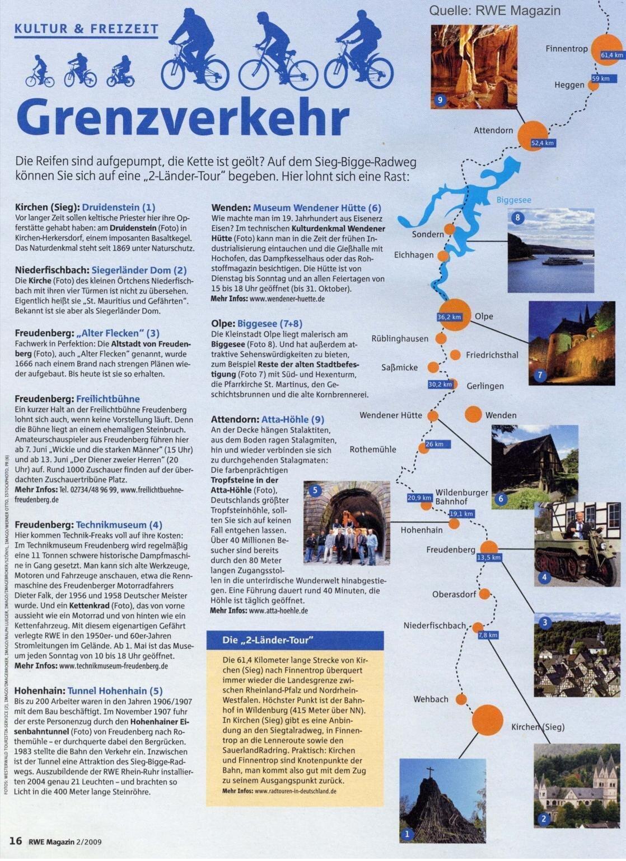 Radweg Ländertour