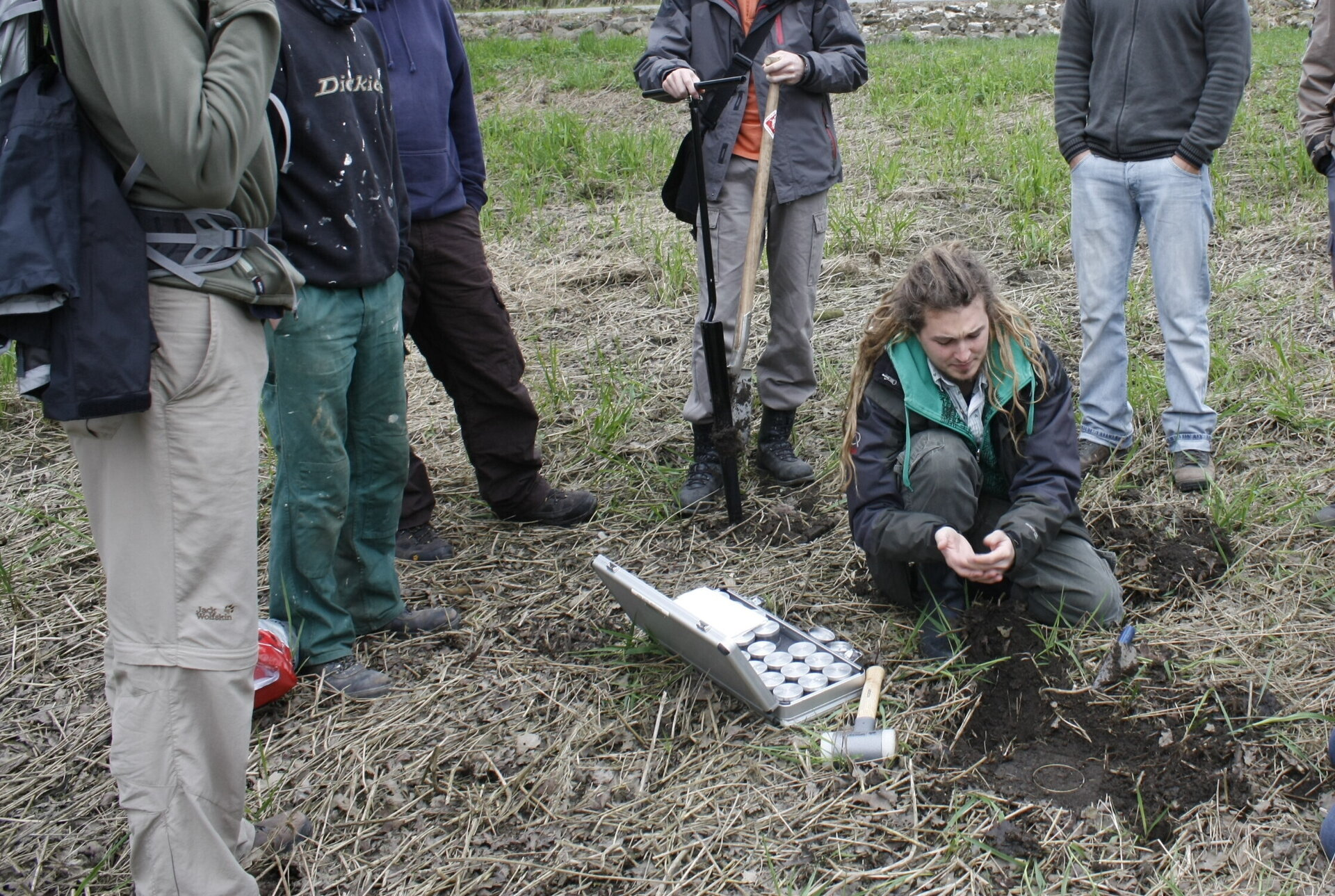 Bodenkundliches Feldpraktika