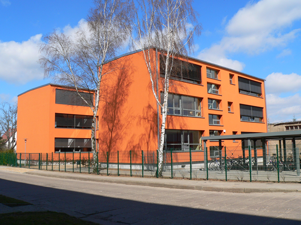 Moderne Gebäude zeichnen unsere Schule aus