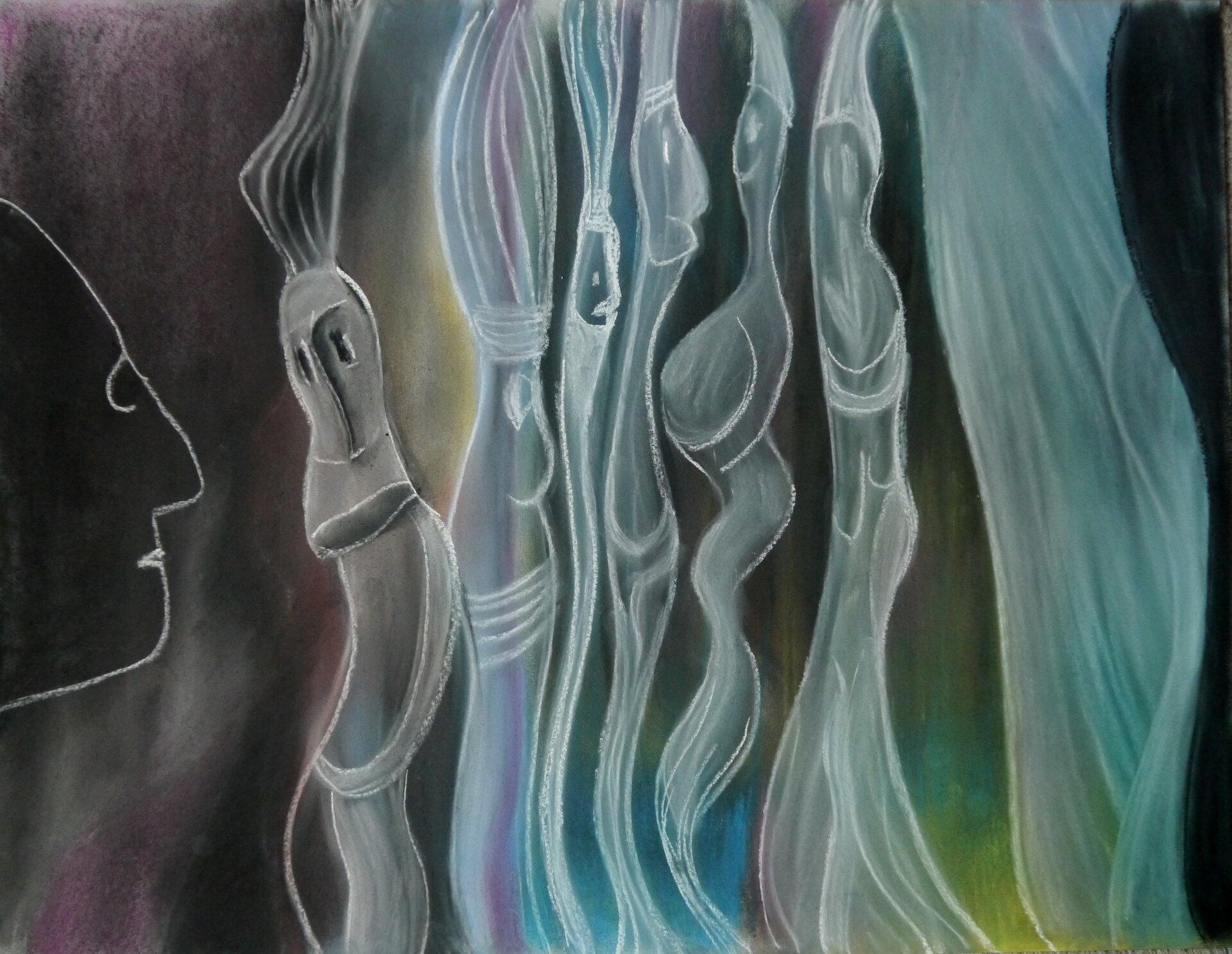 Ein Mann und seine Geister