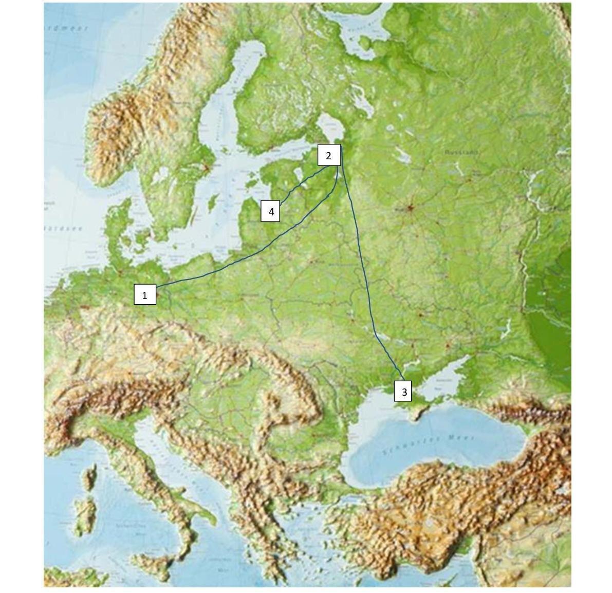 Landkarte: Claudia Erler