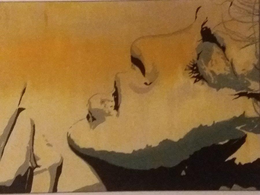 Rebellion, 80 x 100 cm, Acryl auf Leinwand  //SOLD//
