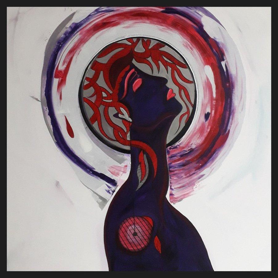 Zuversicht, 100 x 100 cm, Acryl auf Leinwand // SOLD //