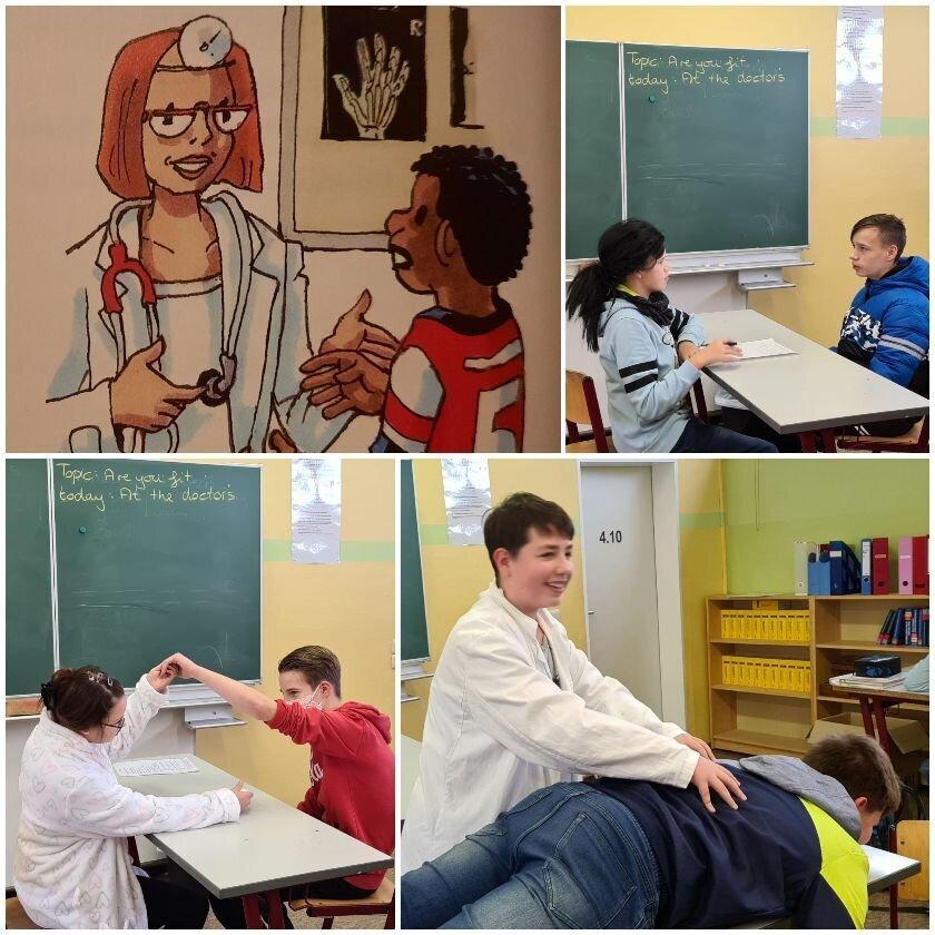 Dialoge im Englischunterricht