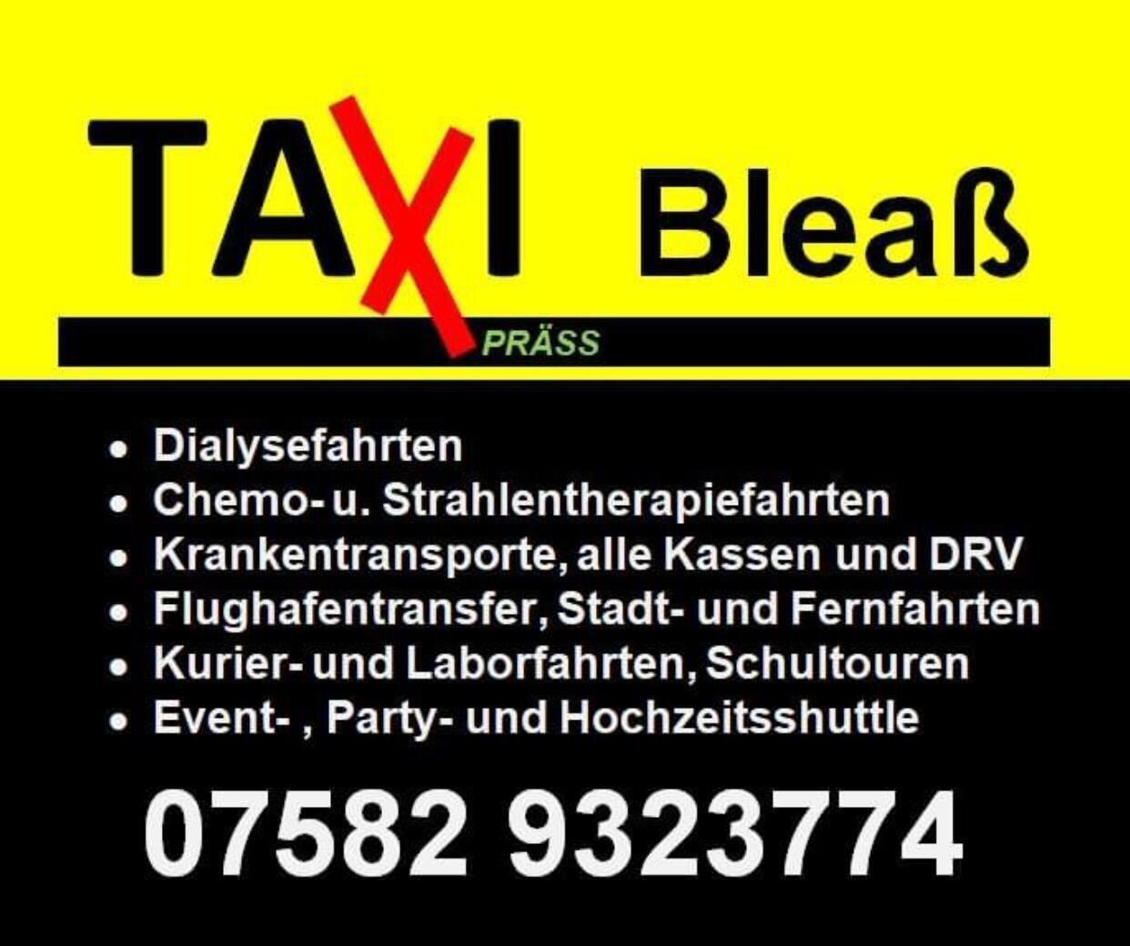 Taxi Bleaß