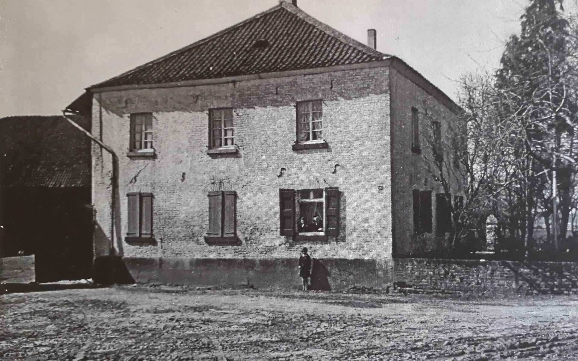 Altes Bild vom Buscherhof