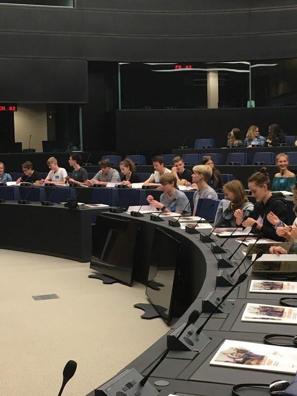 Videokonferenz mit EU-Abgeordneten