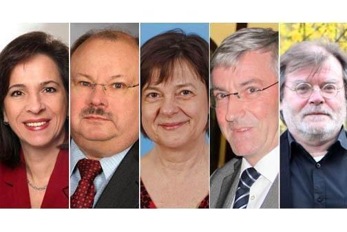 Politiker zu Besuch im Vicco-von-Buelow-Gymanisum