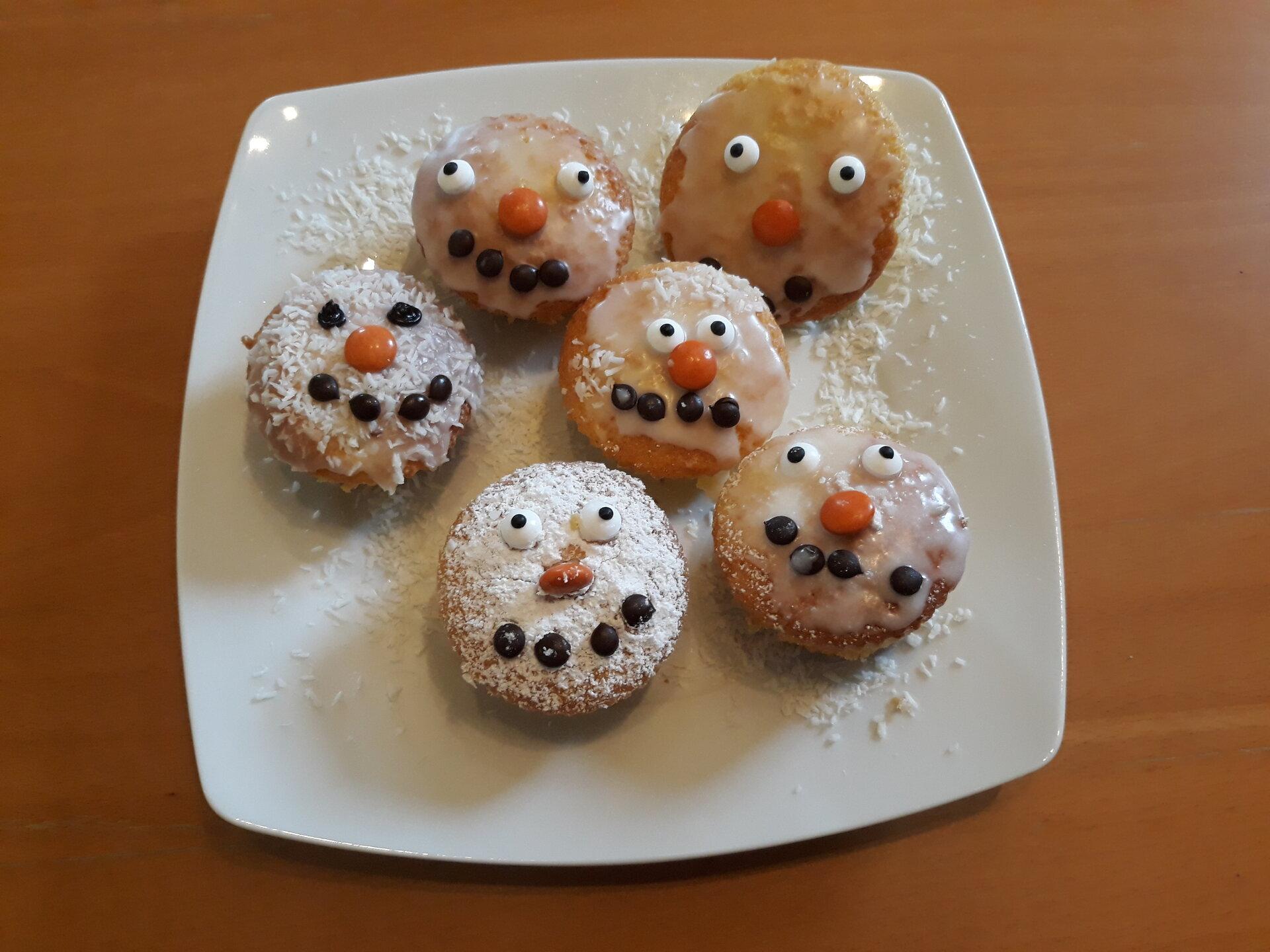Fertige Muffins
