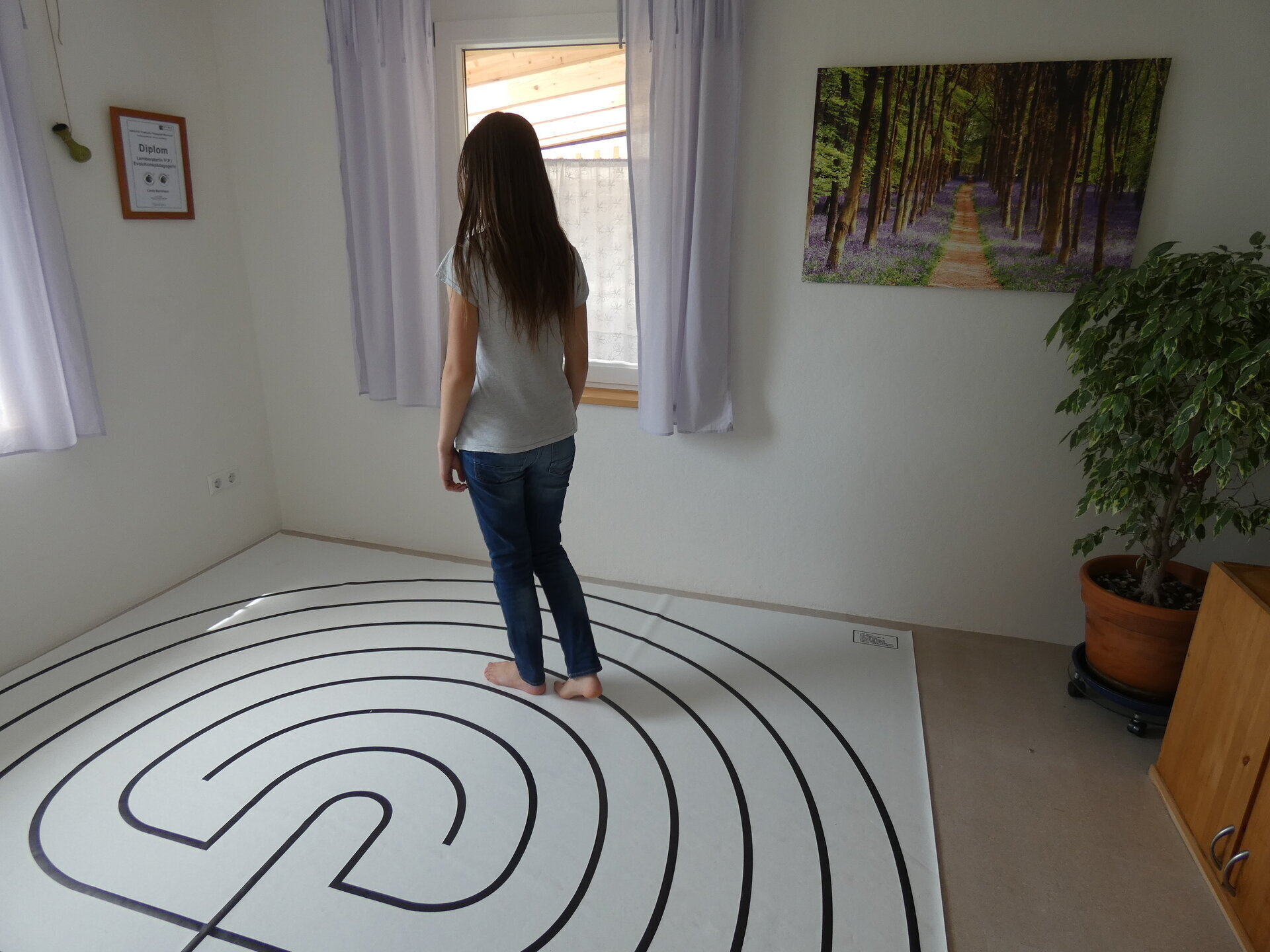 Übung im Labyrinth