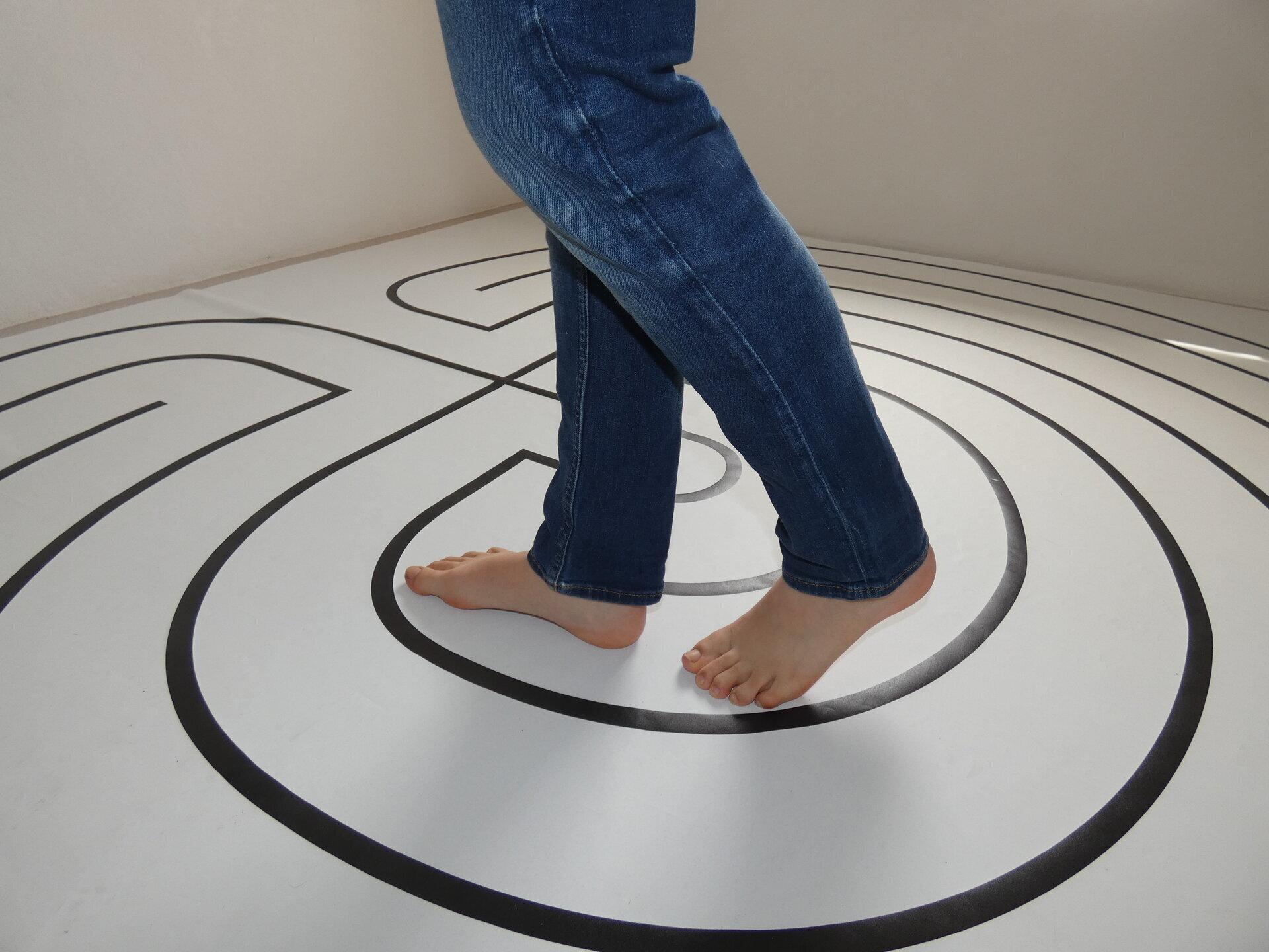 Gehen im Labyrinth