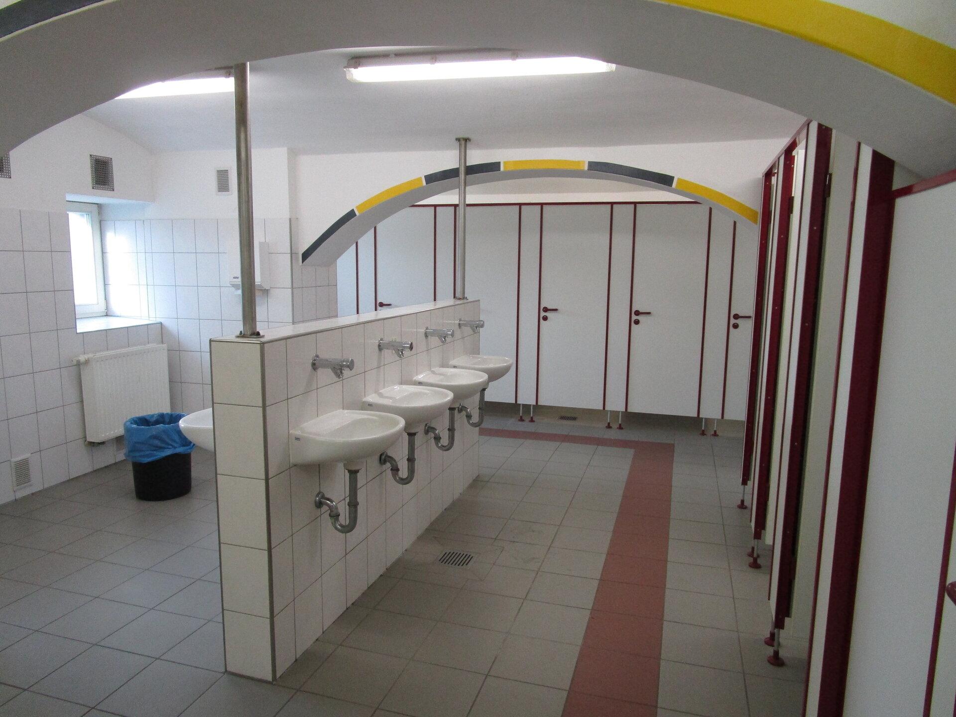 Toiletten der Mädchen