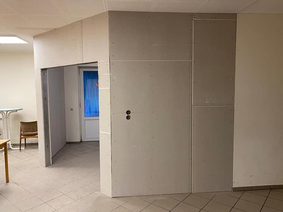 Raumtrenner für Eingangsbereich