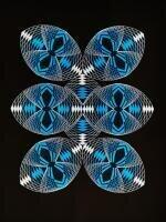 Geometrie und Kaleidoskop-Effekt