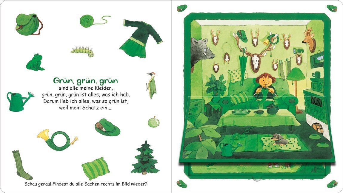 Grün,grün,grün sind alle meine Kleider...
