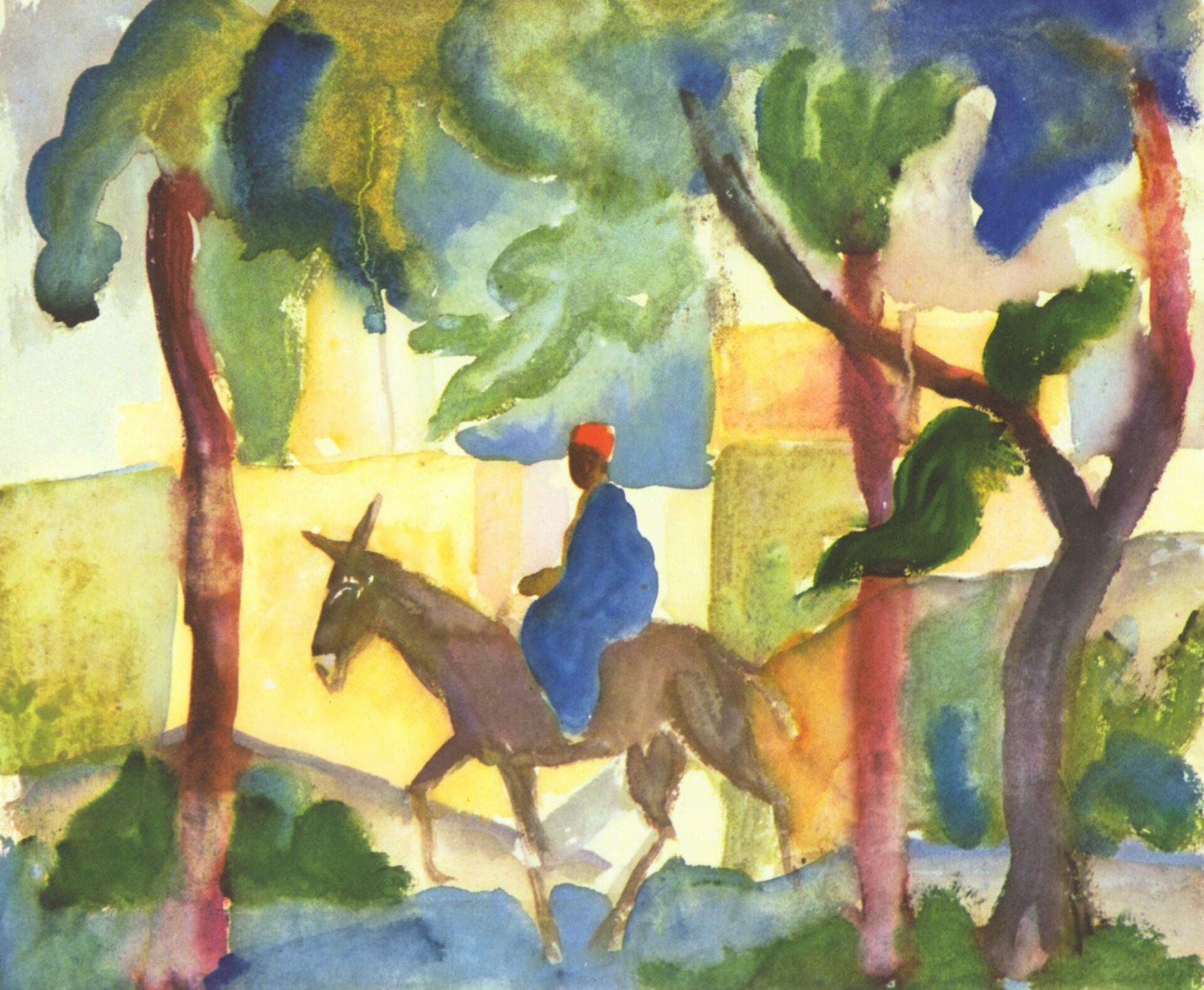 Der Eselreiter, 1914