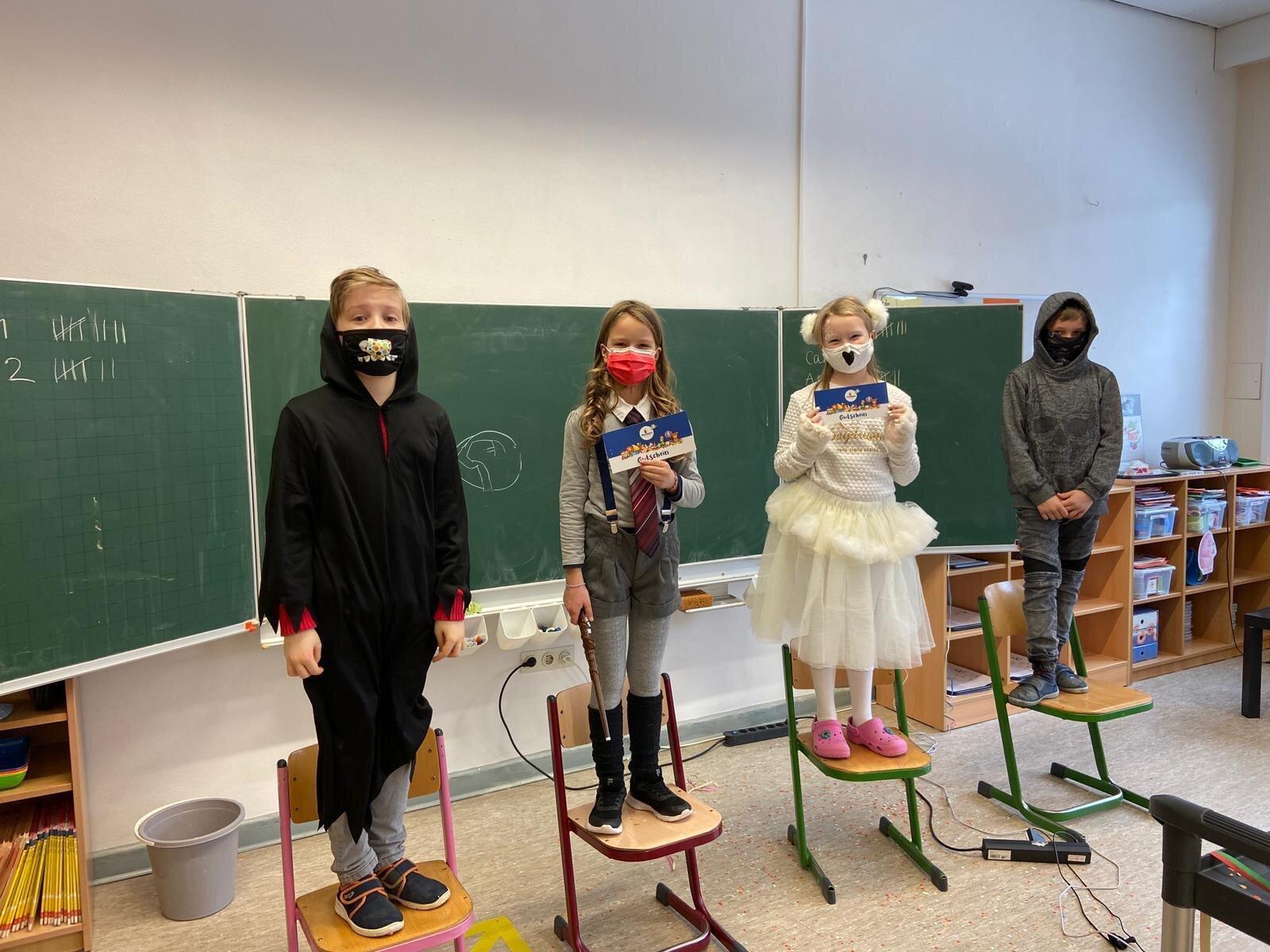Gewinner der Gruppe B aus Klasse 4