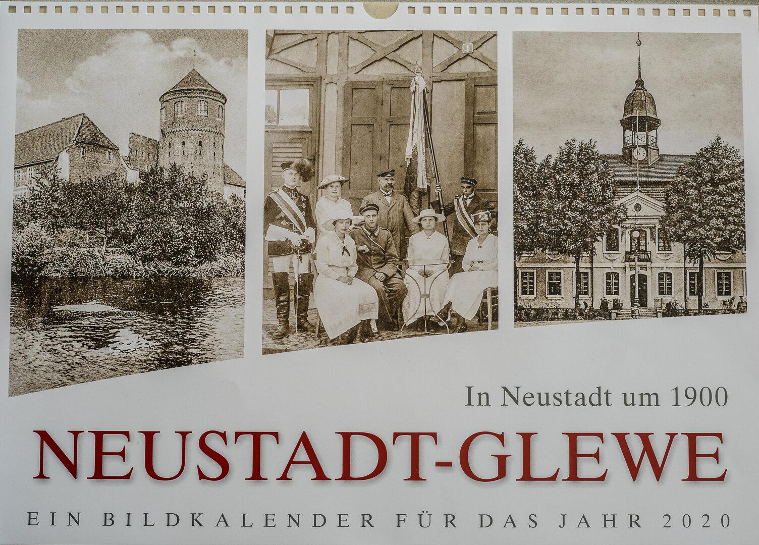 In Neustadt um 1900 - NEUSTADT-GLEWE - Ein Bildkalender für das Jahr 2020