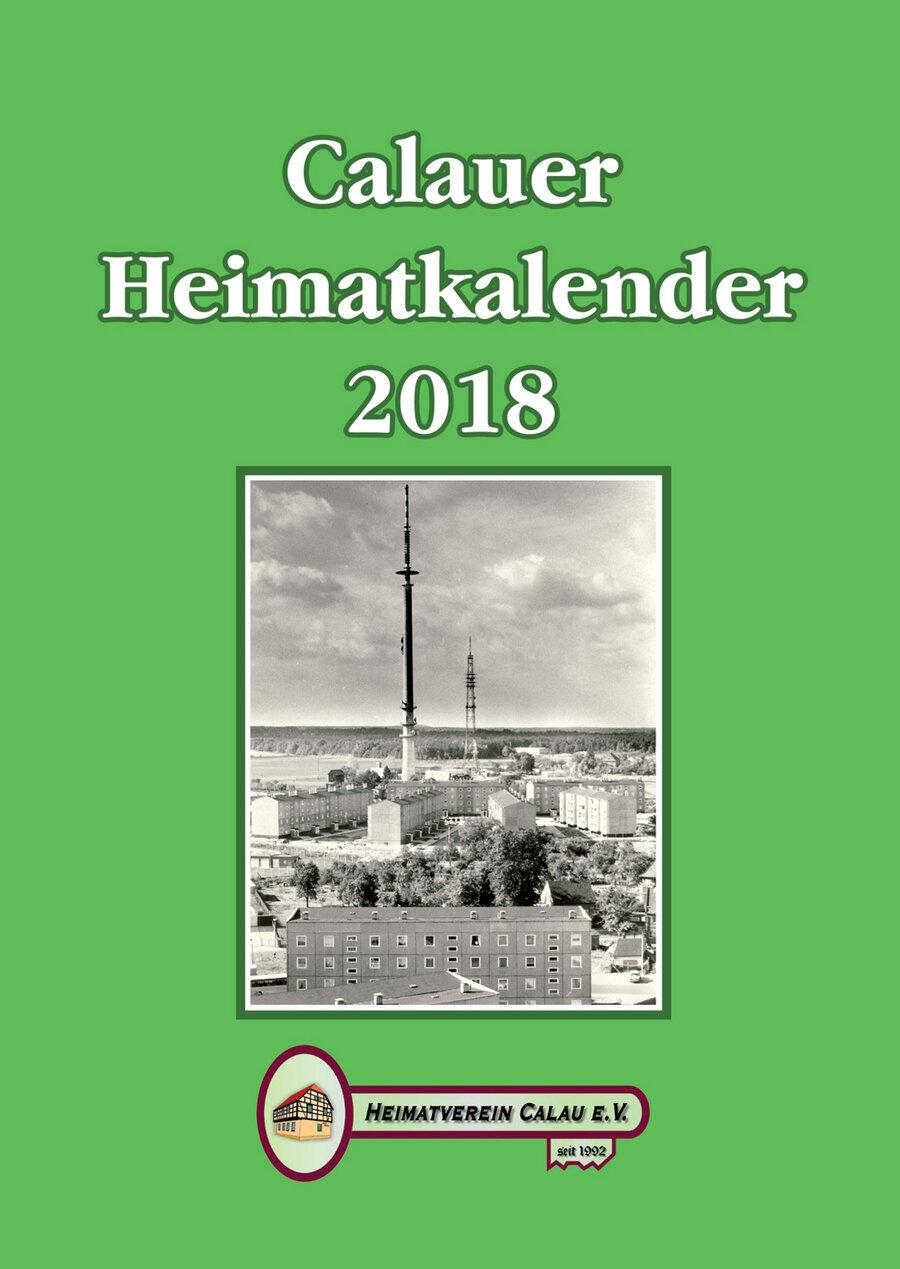 Calauer Heimatkalender 2018