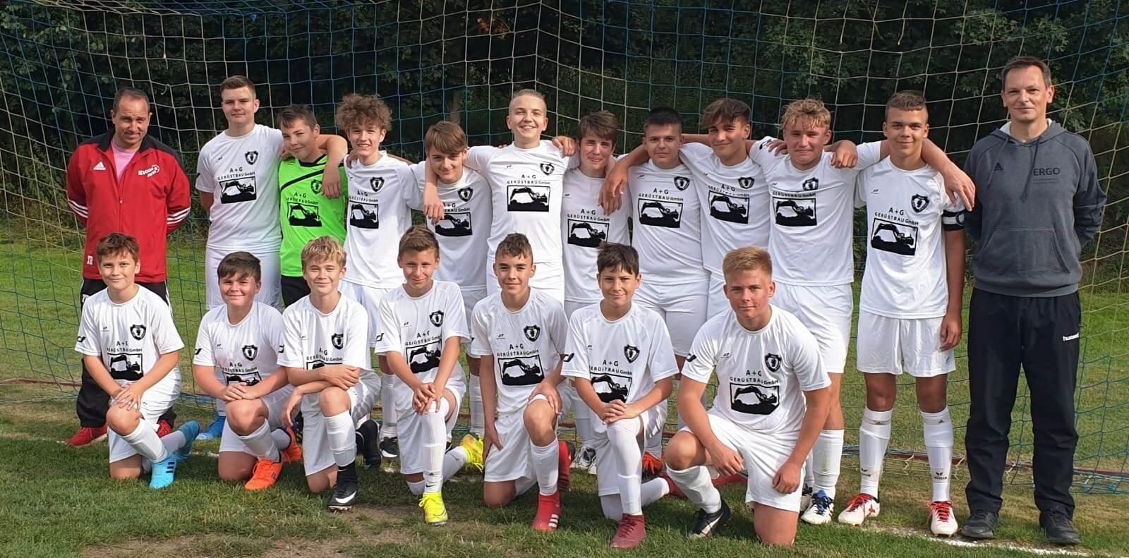 Mannschaftsfoto B-Jugend