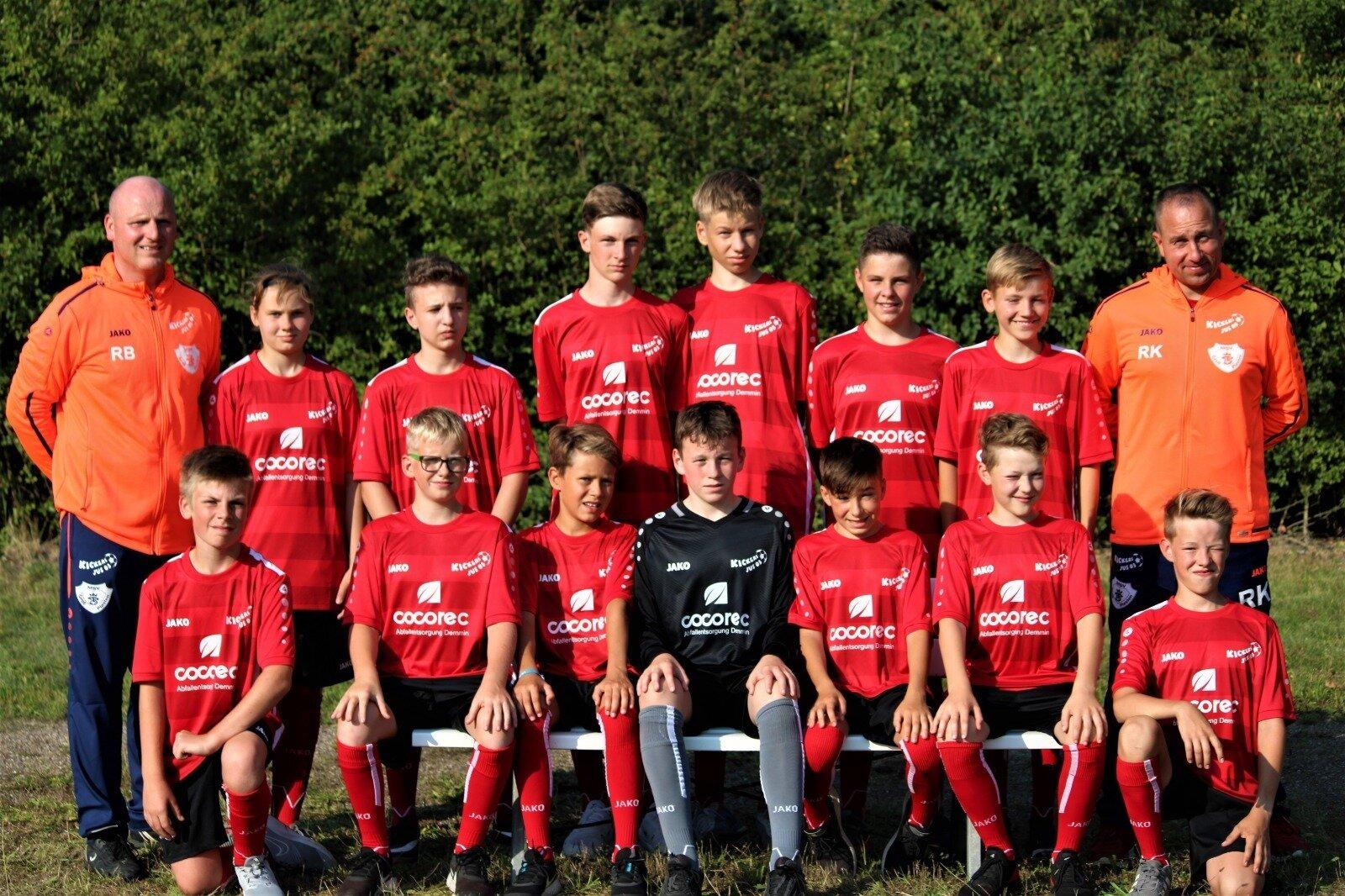 Mannschaftsfoto U14 (C-Jugend II)