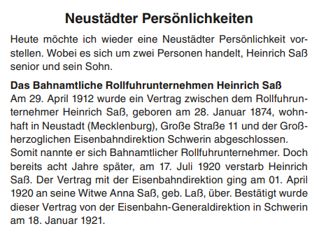Heinrich Saß