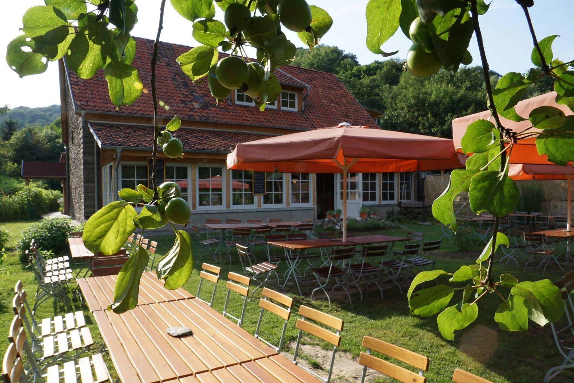 Cafe-Garten