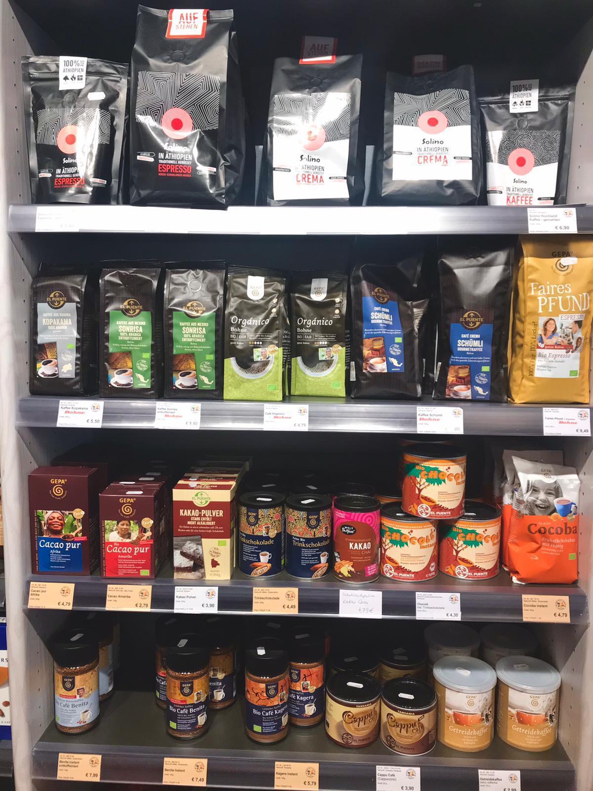 Kaffee und Kakao