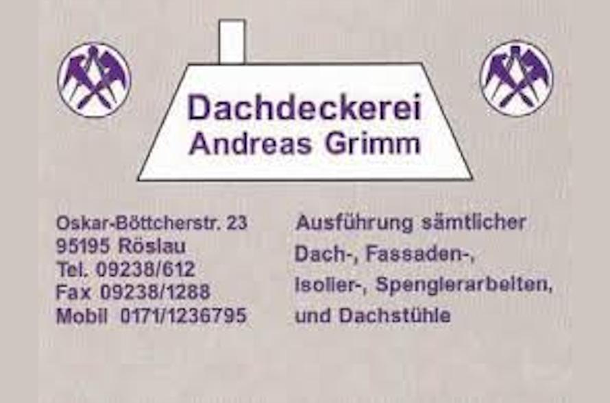 Dachdeckerei Grimm