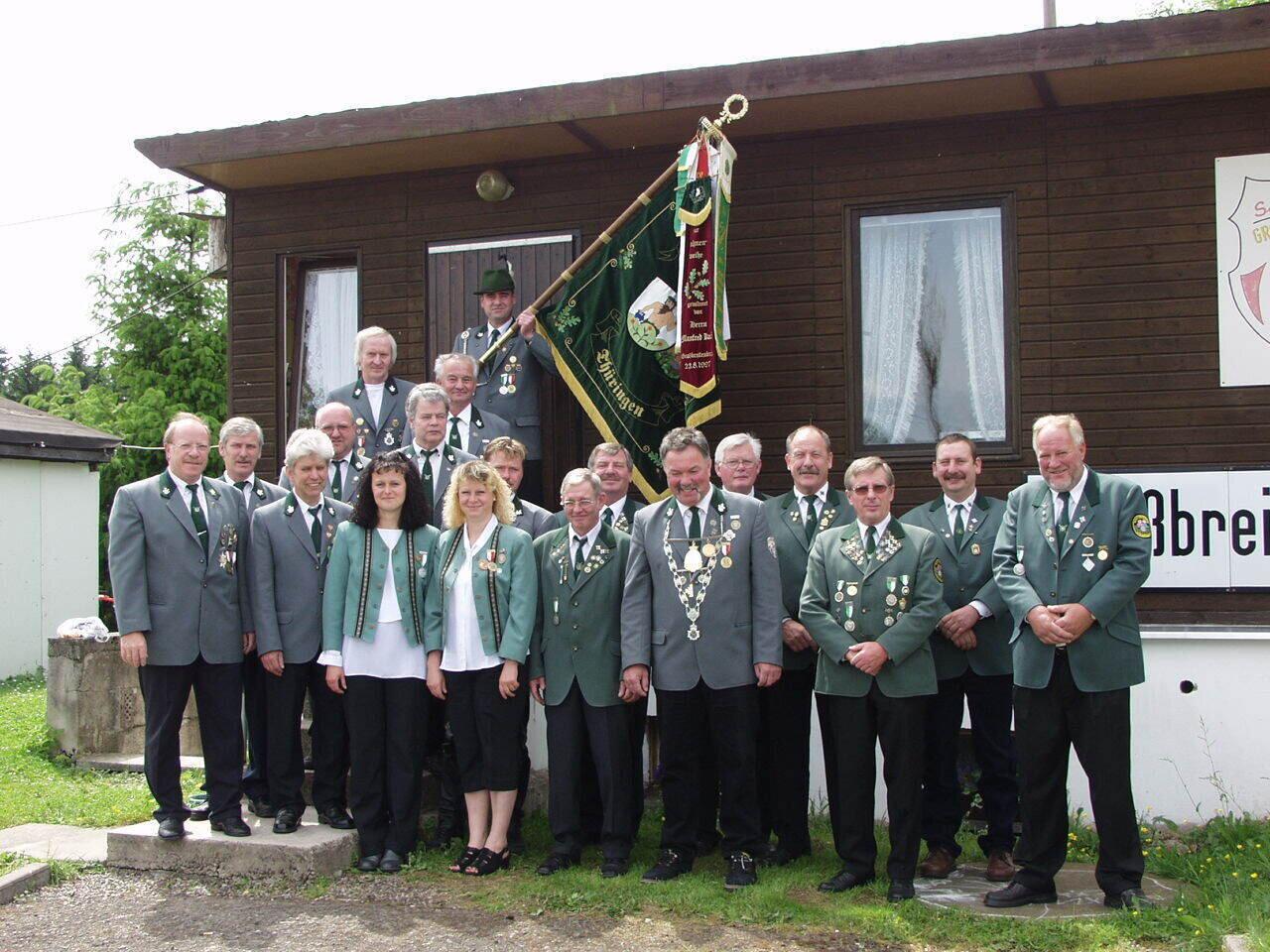 Mitglieder in Uniform