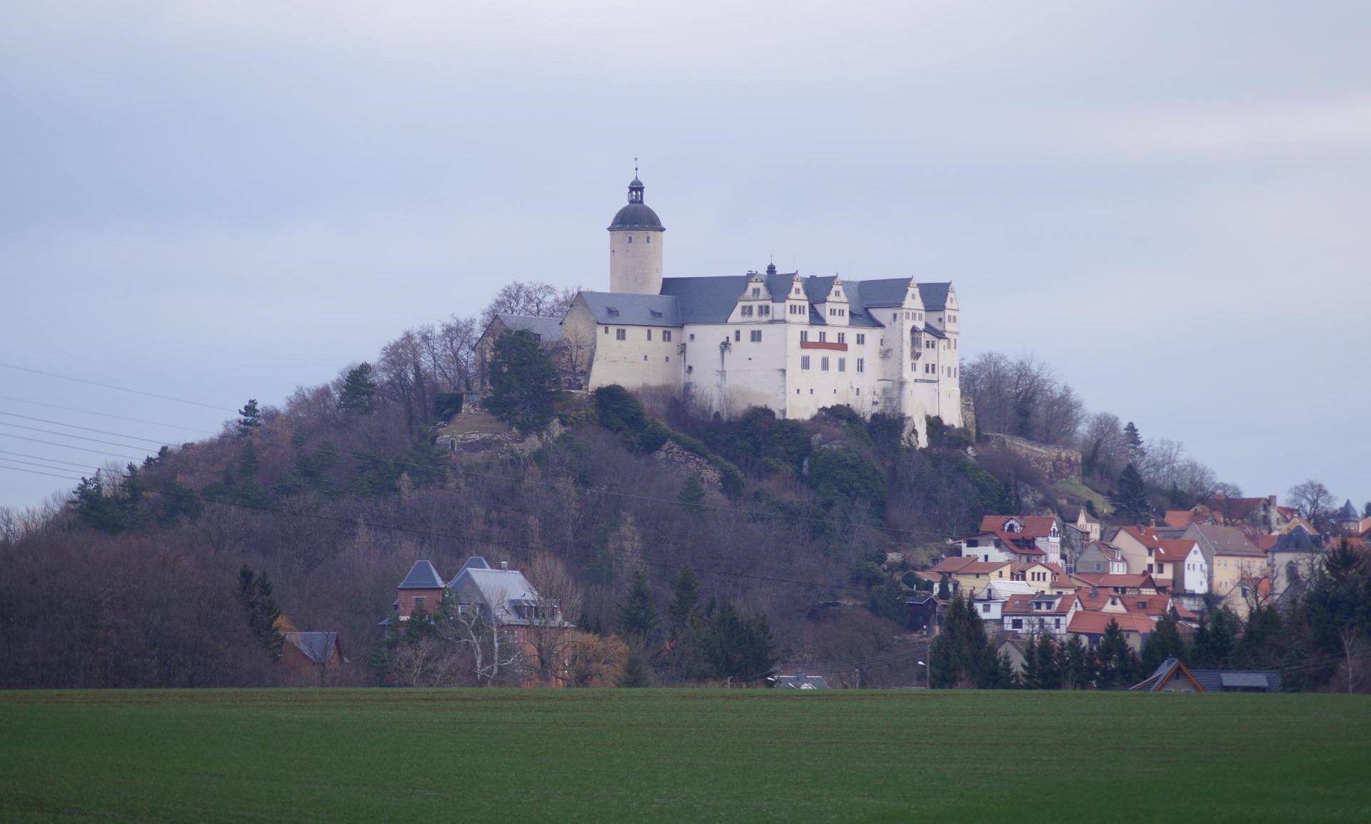 Burg Ranis aus Südwest