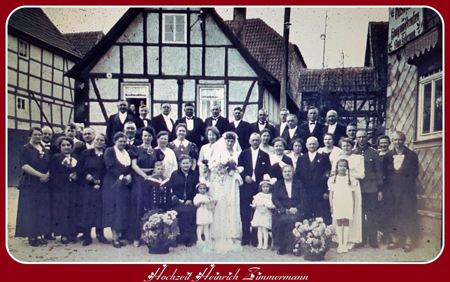 Hochzeit Zimmermann