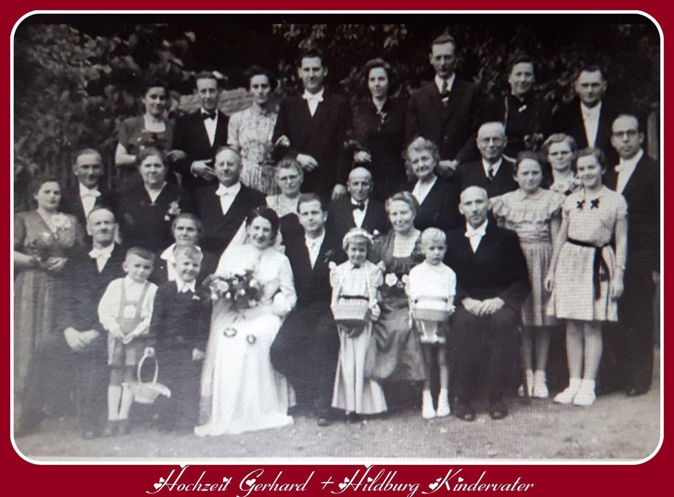 Hochzeit Kindervater