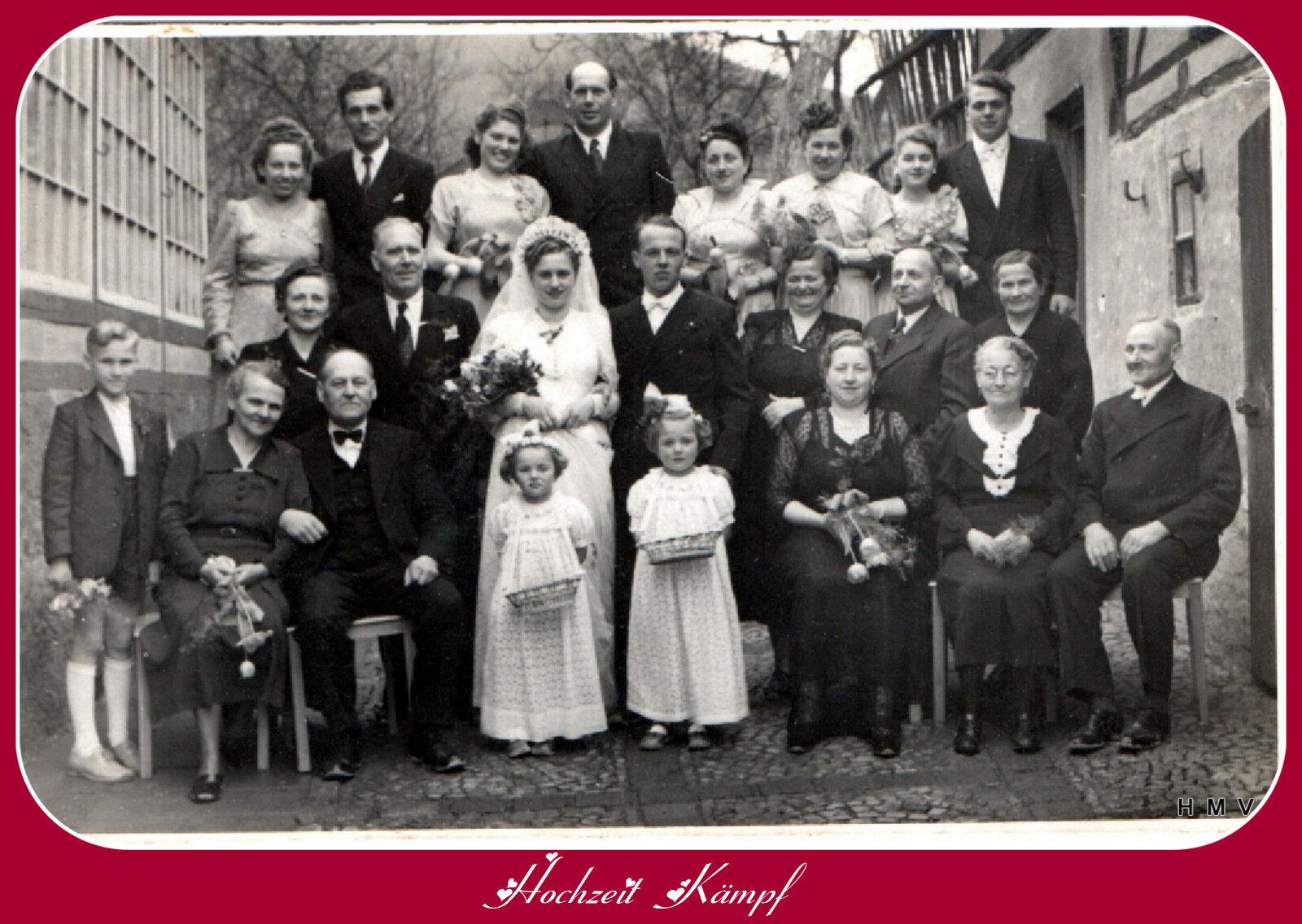 Hochzeit Kämpf