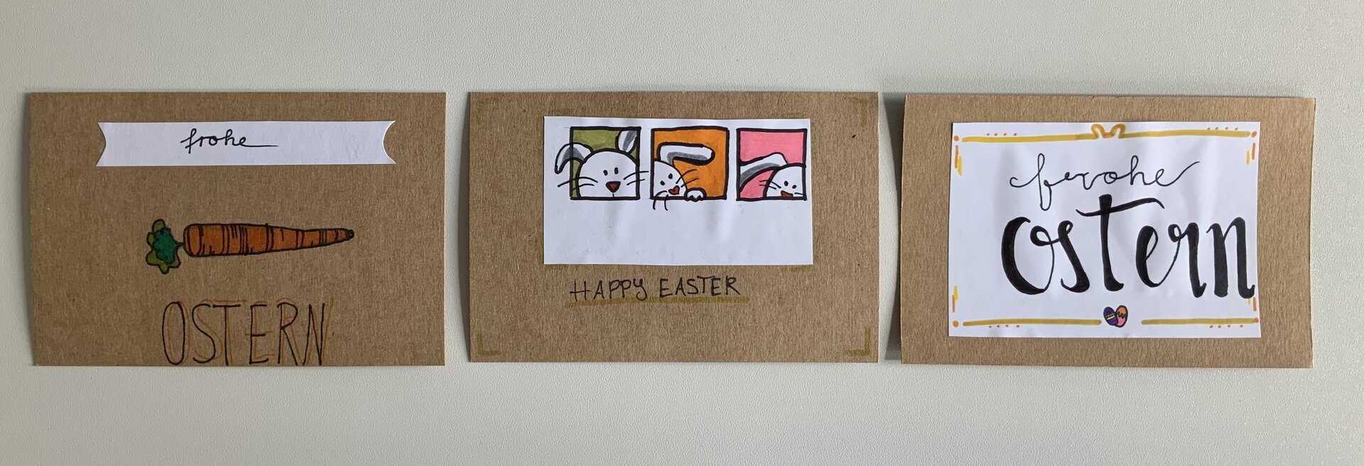 Ostergrußkarten