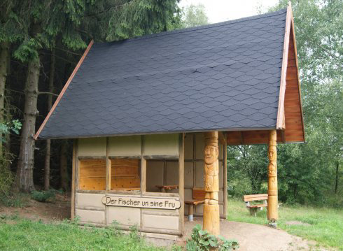 """Wanderhütte """"Vom Fischer un sine Fru"""""""