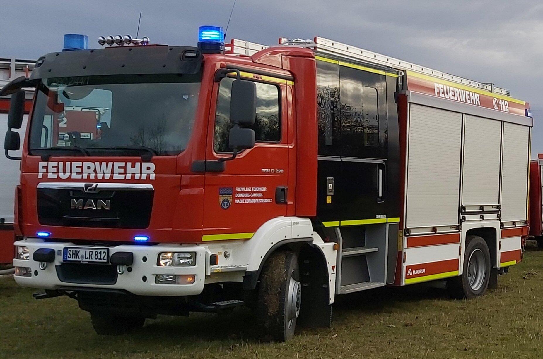 HLF 20/20 Feuerwehr Dornburg- Camburg Wache 2