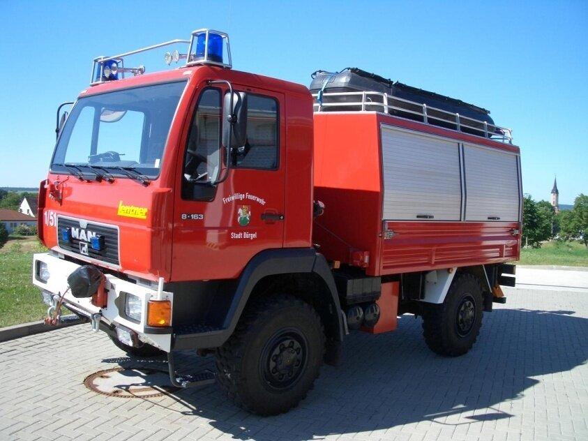 RW 1 Feuerwehr Bürgel
