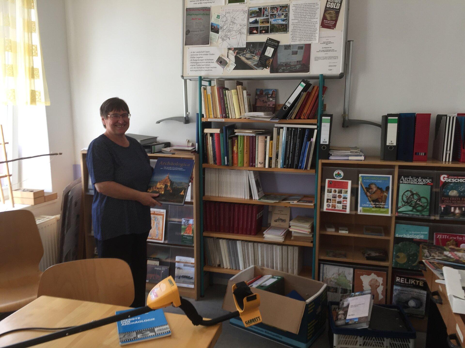 Übergabe der 'Sammlung Dudlitz' durch Elke Dudlitz im Juni 2020