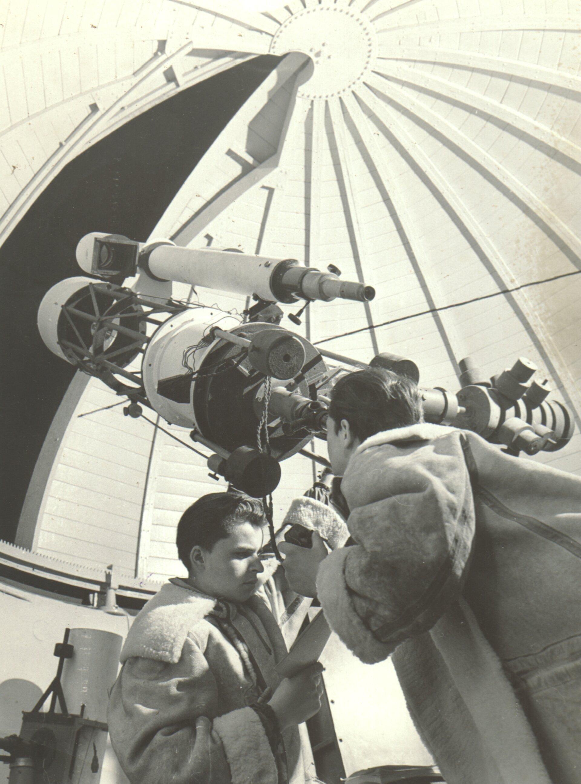 Spiegelteleskop 1953