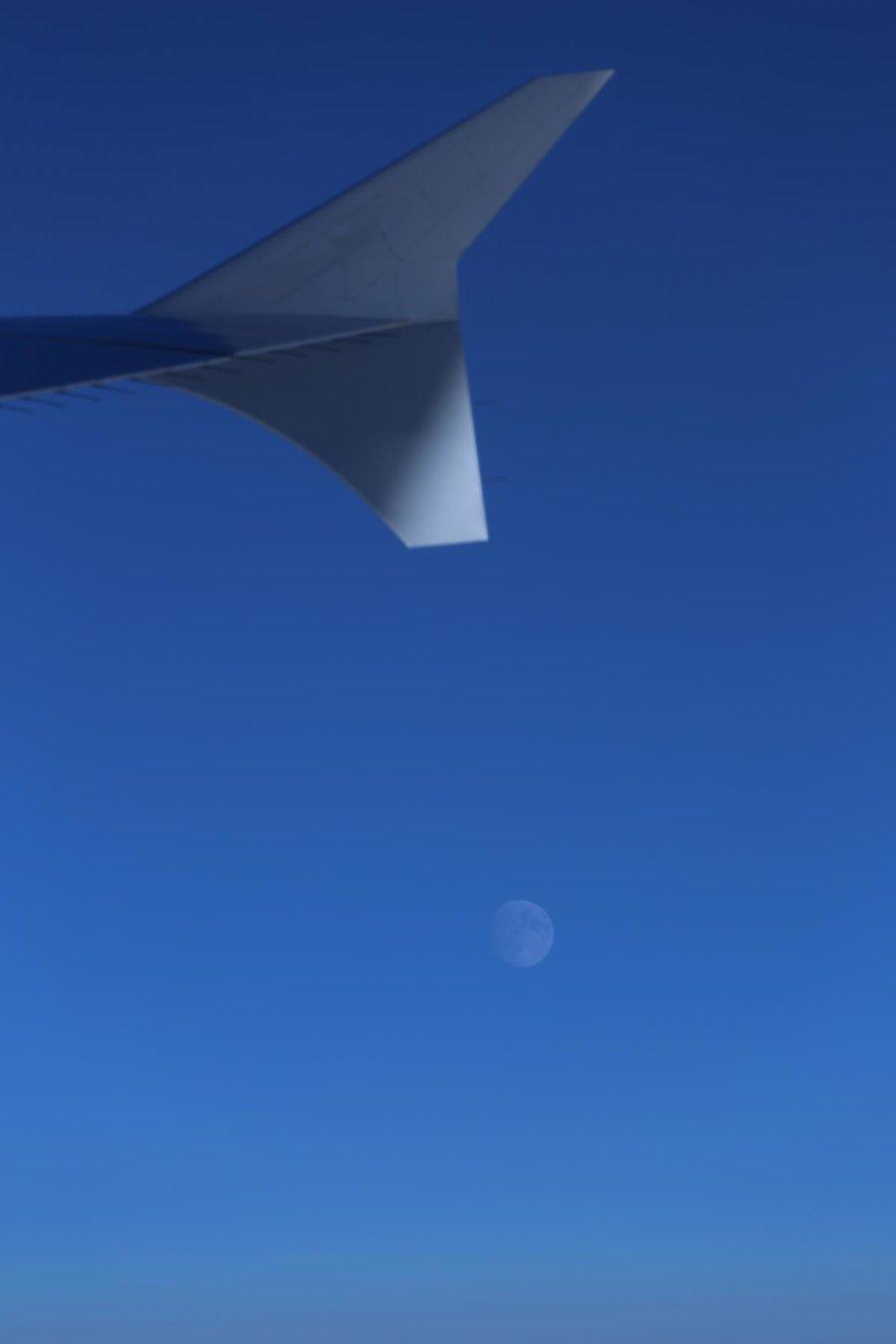 Der Mond über Nunavut