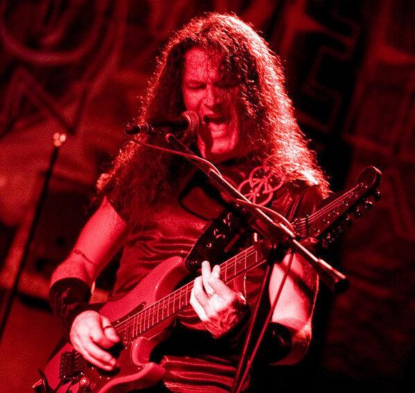 Gitarrist und Sänger