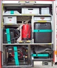 hier finden Sie z.B.  Drucklüfter, Plasmaschneidegerät,  Feuerlöscher Schaum und Pulver
