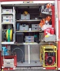 hier finden Sie z.B.  Notstromaggregat, Rettungssägen,  Motorsäge, Trennschleifer