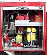 hier finden Sie z.B.  Atemschutzgeräte,  Motorkettensäge, Ölbindemittel