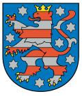 Wappen Freistaat Thüringen