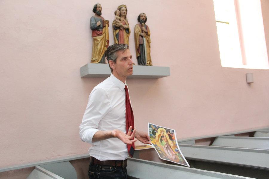 Herr Müller-Brandes erzählt über Maria und Petrus und Paulus