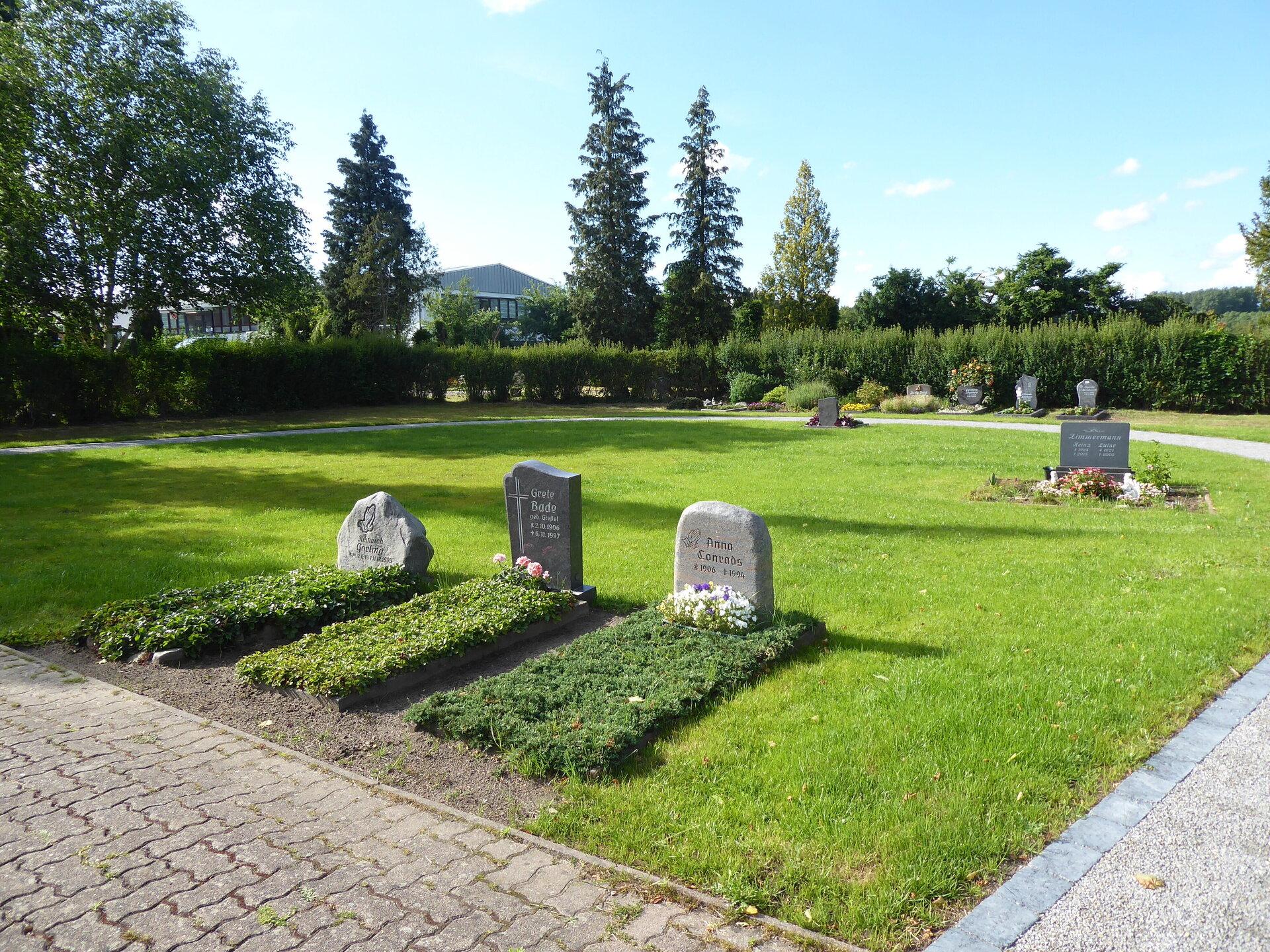 Friedhof Mariensee