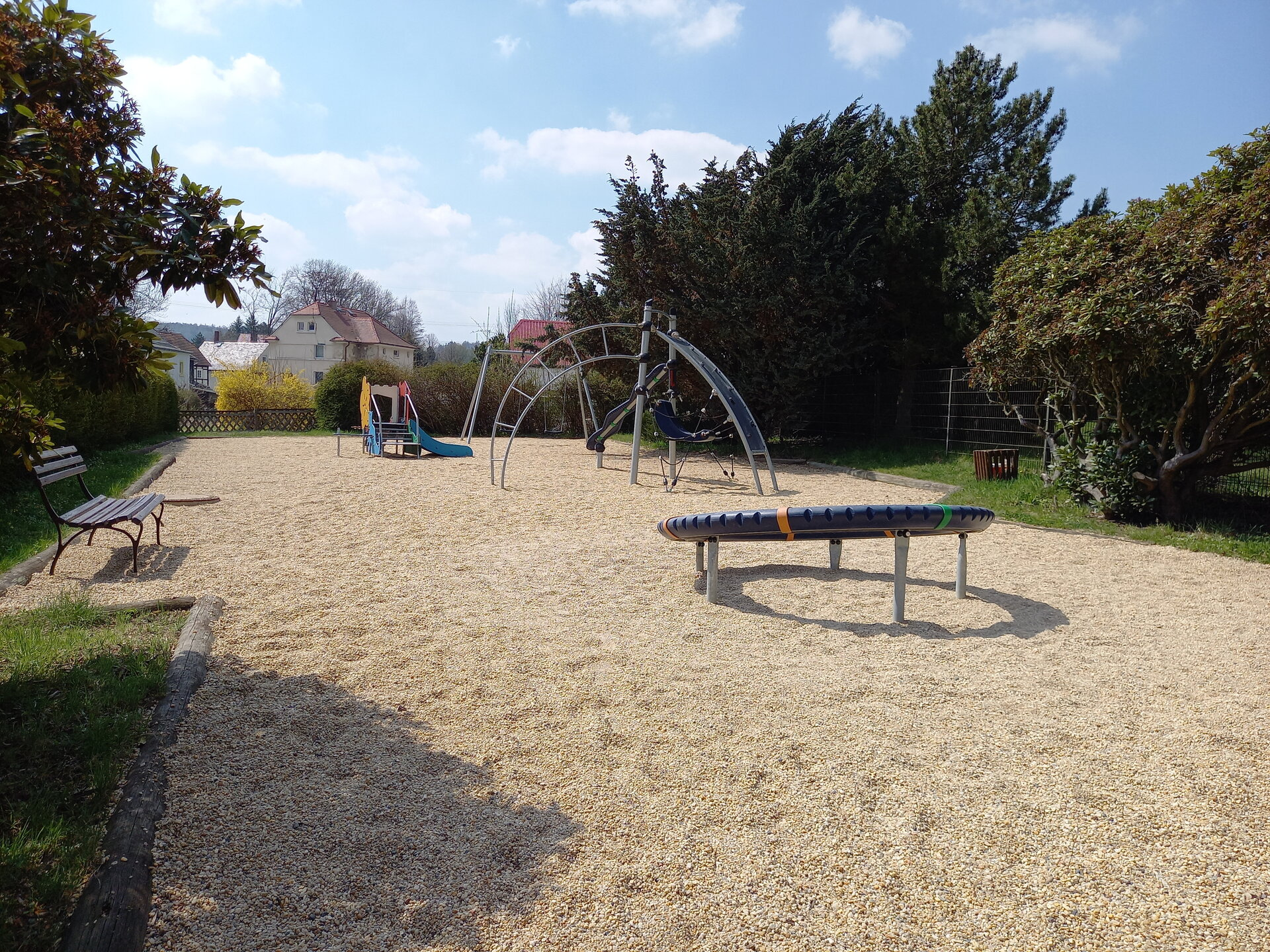 Spielplatz in Lawalde am Kretscham